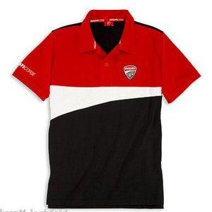 NWOT DUCATI CORSE ´12 Short Sleeve Polo T-Shirt